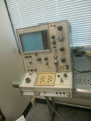 Tektronix Model 576 Curve Tracer. Powered Only. For Parts