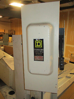 Square D H323n 100 Amp 240v Fusible 3 Phase Disconnect F Series- Painted White