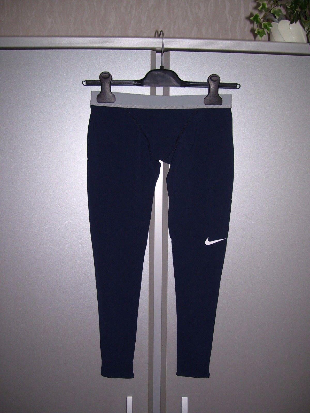 Nike Jungen Badehose lang Badeshort Jammer Schwimmhose navy langes Bein 152 neu