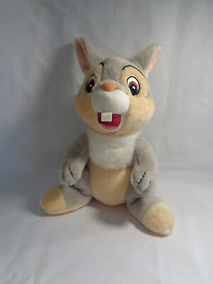 Walt Disney World Soft Thumper Bunny Bambi's Friend Bean Bag Plush Doll Toy 8""