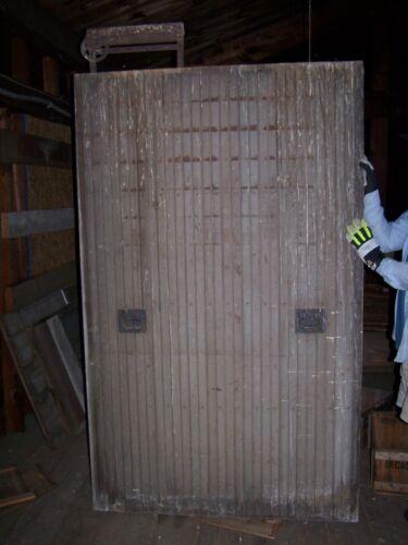 Vintage Wood Barn Door Architectural Salvage