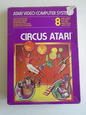 Circus Atari for Atari 2600 VCS CX2630 BOXED complete