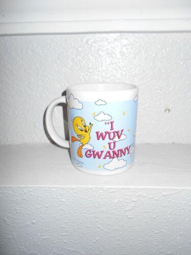 Looney Tunes Tweety Coffee Mug (I Wuv U Gwanny)