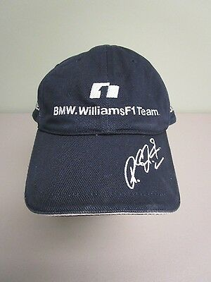 Bmw Williams F1 Team Racing Hat Ball Cap  5 Navy Blue Reuters Mens One Size Euc