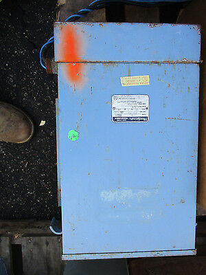 Jefferson 211-157 10 Kva 600 X 120240 Volt 1 Phase Transformer Os-t1163