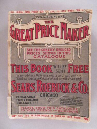 Sears CATALOG - 1908