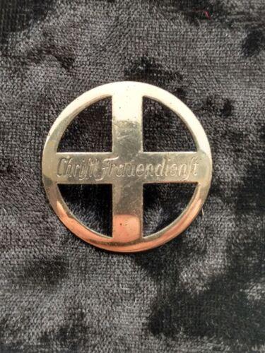 ww2 German Nazi CHRISTL FRAUENDIENST Badge