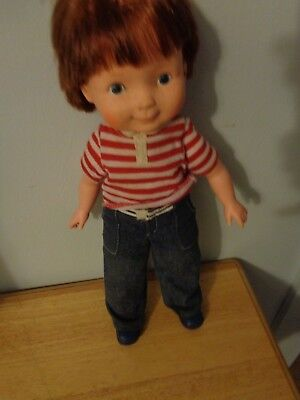 RARE VINTAGE FISHER PRICE QUAKER OATS 1981 MY FRIEND MIKEY FRECKLED BOY DOLL