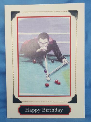 Snooker Handmade Birthday Card