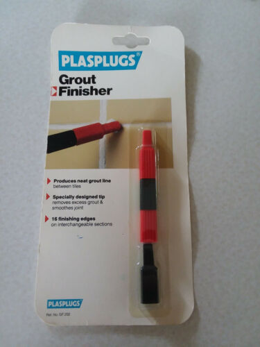 NEW Grout Finisher by Plasplugs, Made in USA