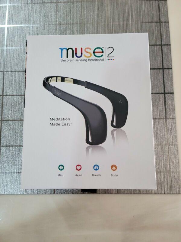 muse 2 meditation headband (gray) with free hard case (grey)