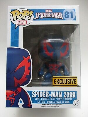 Funko Pop Spider-Man 2099 Walgreens Exclusive-Damaged Box