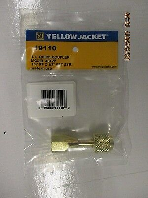 Yellow Jacket 14 Quick Coupler-19110