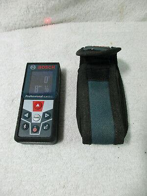 Bosch Glm50c Bluetooth Enabled Laser Distance Measurer W Color Backlit Display