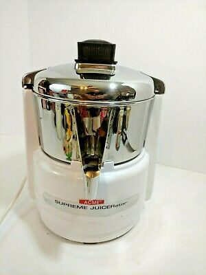 ACME Supreme Juicerator Model 6001 Fruit Vegetable Juicer - 11JE21 - Made in USA