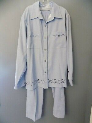 ALFRED DUNNER WOMENS SIZE 12 PANT SUIT