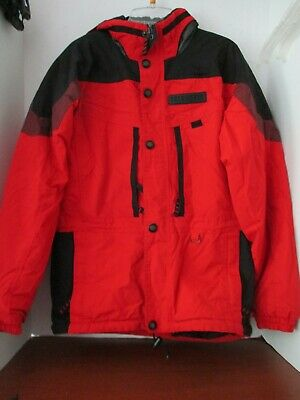 OBERMEYER~Red & Black SKI SNOWBOARD COAT JACKET~Boys 18