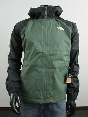 Mens TNF The North Face Boreal Dryvent Waterproof Hooded Rain Jacket - Thyme