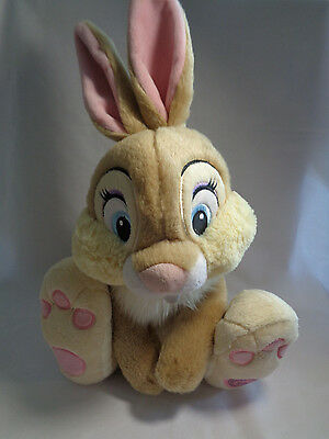 Disney Store Genuine Original Miss Bunny Thumper Bambi Friend Soft Plush 10""