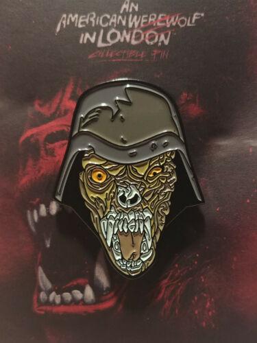 american werewolf in london demon commando enamel pin horror