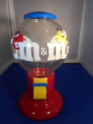 M&M plastic candy dispenser