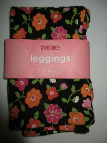 Gymboree All About Buttons Flower Leggings Size 6-12 Month NWT