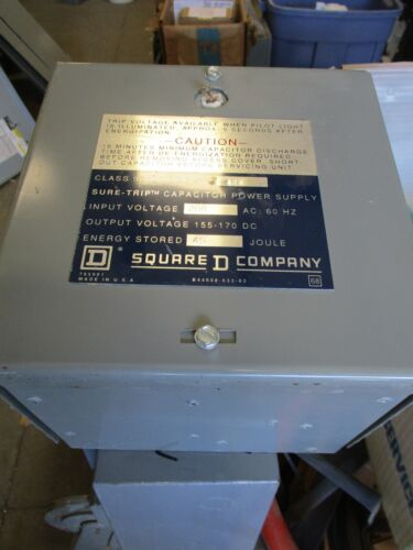 SQUARE D 8910 TYPE ST 408 CAPACITOR POWER SUPPLY