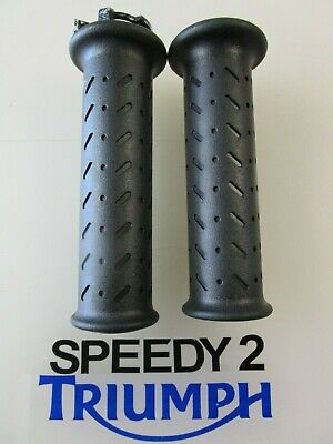 TRIUMPH SPEED TRIPLE R  S SPEED TWIN LEFT  RIGHT GRIPS T2041579 T204