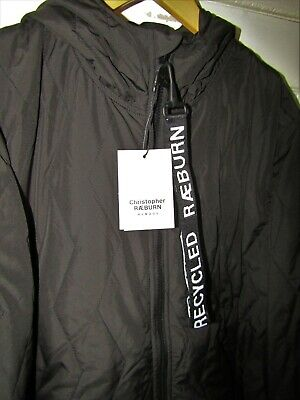 NEW £495 Christopher Raeburn Quilted Anorak Engineered Weathergear Garment L