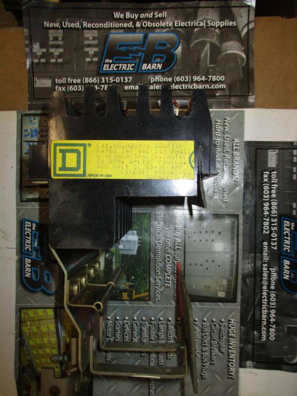 Square D HQO306, 240 Volt I Line to QO Circuit Breaker Adapter, WARRANTY