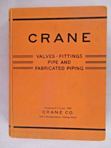 Crane CATALOG - 1941 ~~ plumbing, valves, fittings, pipes, plumbers