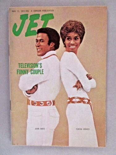 Jet Magazine - November 11, 1971 ~~ John Amos, Teresa Graves