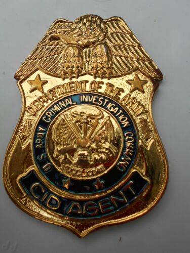 Army CID Shield       Paperweight