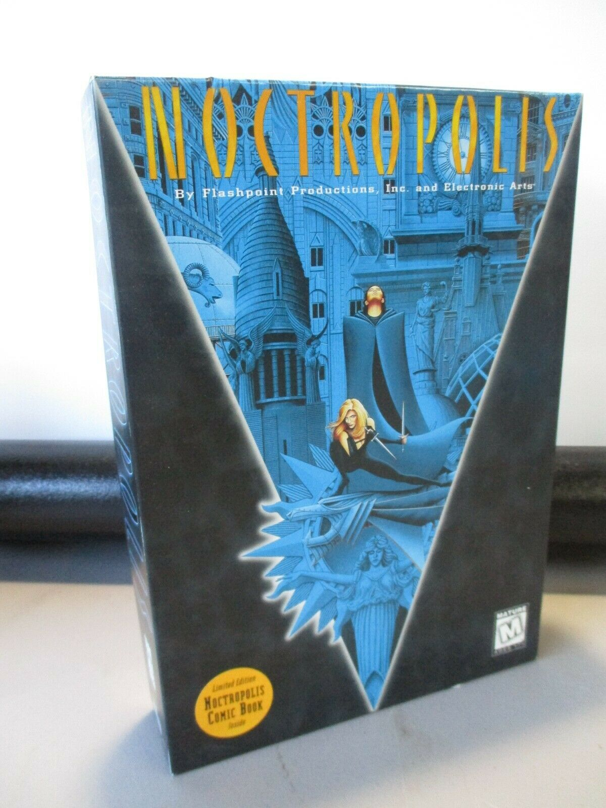 Computer Games - VINTAGE PC COMPUTER GAME CD ROM FLASH POINT NOCTROPOLIS GAME IN BOX LIMITED EDIT