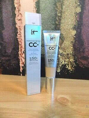 It Your Skin But Better CC+ Full Coverage Cream ~LIGHT~ 1.08 oz *READ