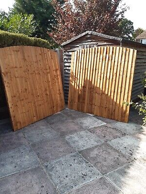 Fence Panels 6 x 5 Feather Edge X 2