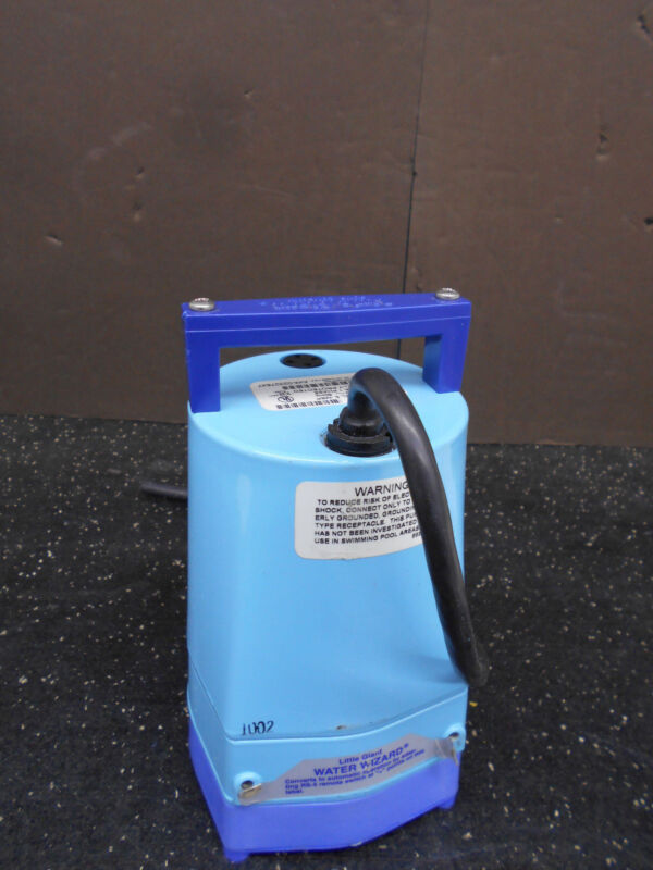LITTLE GIANT 505000 MODEL 5-MSP SUBMERSIBLE UTILITY PUMP