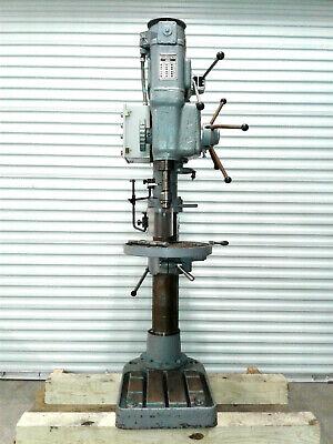 Victoria Elliot Heavy Duty Geared Head Drill Press Progress 4e Floor Pedestal