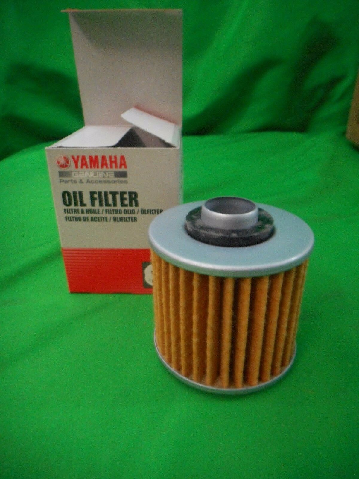 2 Pack Oil Filter YAMAHA BIG BEAR 400 4X4 YFM40FS BUCKMASTER 400 YFM400FHM 00 04