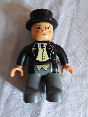 Lego Duplo Train Sir Topham Hatt figure good used condition