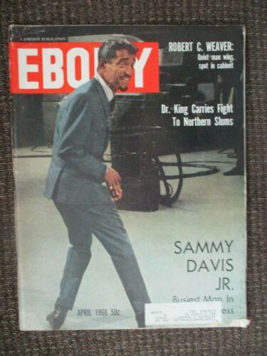 Ebony Magazine (Sammy Davis Jr.) April 1966