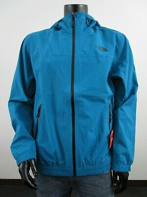 Mens TNF The North Face Highland Tech Dryvent Waterproof Hooded Rain Jacket Blue