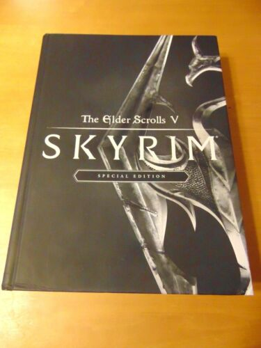 The Elder Scrolls V Skyrim Special Edition Hardcover Guide & Bookmark