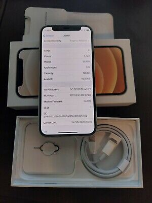 Apple iPhone 12 mini - 128GB - White (Unlocked) Perfect Condition with warranty