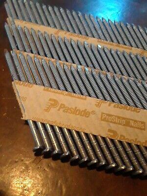 Paslode-097397-2-38x .113 Brite Ring Shank Clipped Head Framing Nail 160 Pcs