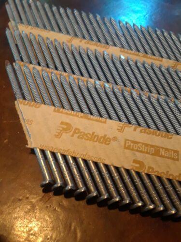 """Paslode-097397-2-3/8""""x .113"""" Brite Ring Shank Clipped Head Framing Nail, 160 Pcs"""
