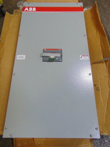 NEW ABB Electrical Cabinet Enclosure Box with Circuit Breaker Sace S6