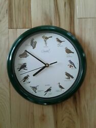 New without box Comfort Home song Bird Clock