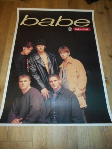 TAKE THAT - BABE - ORIGINAL SS ROLLED ENGLISH COMMERCIAL POSTER  - 1993