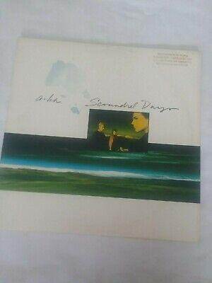 A-HA Scoundrel Days LP Gold Promo Stamp NM